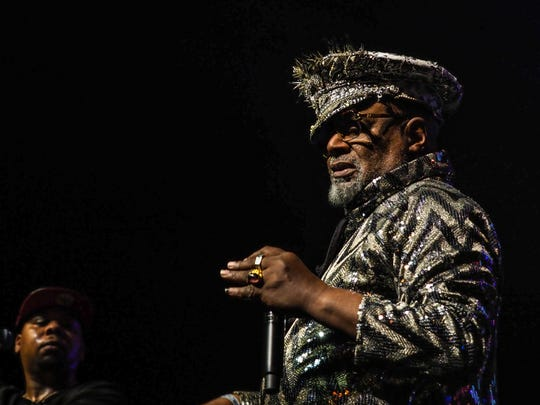 George Clinton brought the funk to Paisley Park on opening day of the Prince Celebration.
