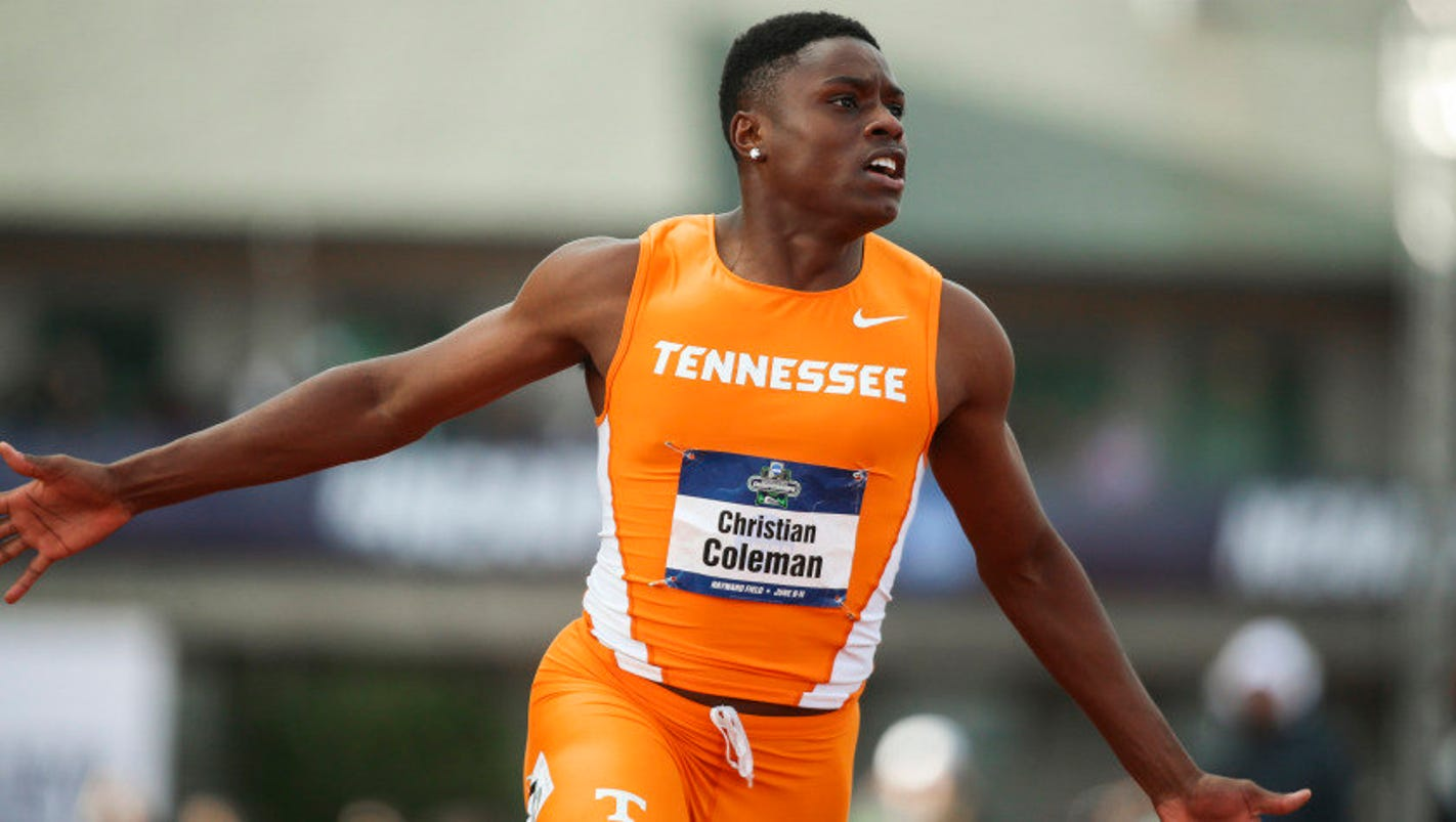 Ncaa Bound Christian Coleman Is Sec Runner Of Year