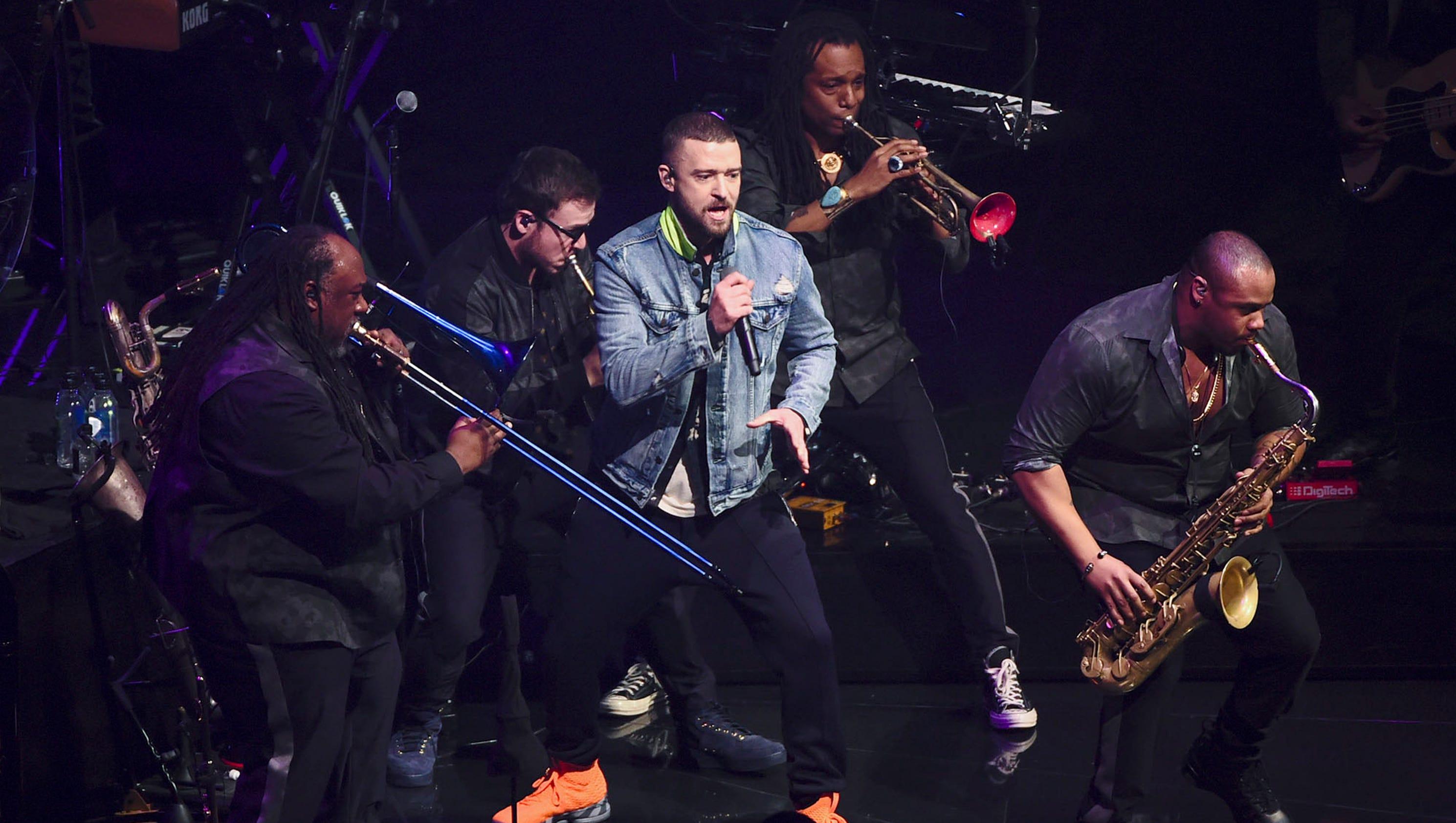 Justin Timberlake Tour Jt Wows At Madison Square Garden Show