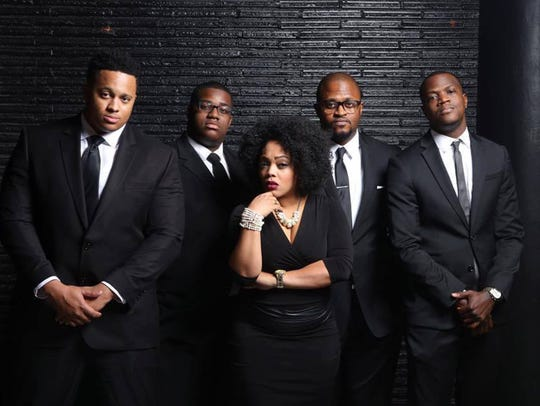 Souled Out Groove performs at Alabama State University on Wednesday.