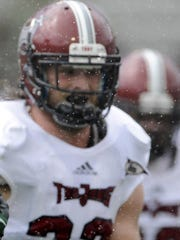 Troy defensive end Tyler Roberts was a second-team All-Sun Belt selection last year.