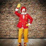 New look for Ronald McDonald