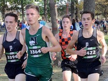 Former JV runners have huge races for Brighton in KLAA cross country meet