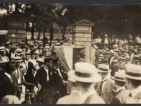Suffrage Arrests