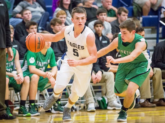 Delta beat Yorktown 55-25 Friday during a home game at Delta High School.