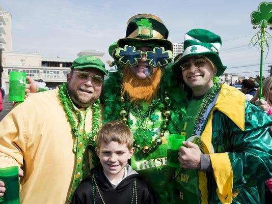OC St. Patrick's Day Parade 2013