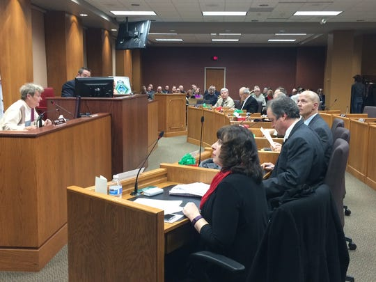 The Green Bay City Council on Tuesday, Dec. 19, 2017.