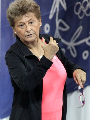 Martha Karolyi at the Karolyi Ranch.