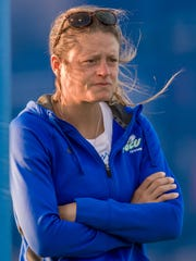 Coach Courtney Vernon has led FGCU's women's tennis to its first-ever ASUN regular-season title.