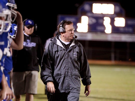 Fort Defiance head coach Dan Rolfe has his program