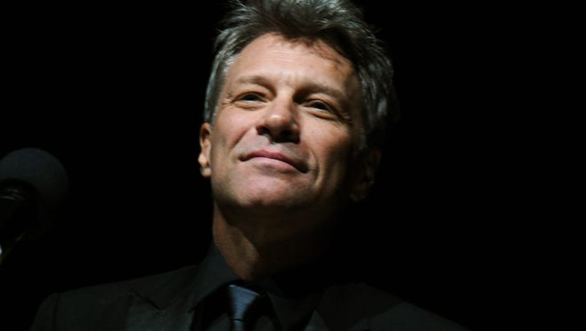 Jon Bon Jovi receives the Marian Anderson Award in Philadelphia.