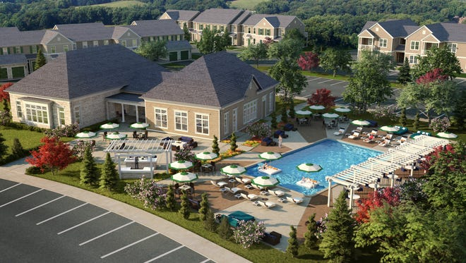 A rendering of the 236-apartment Grand at Florence development in Florence, Kentucky.