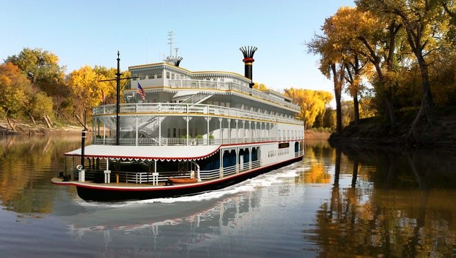French America Line's Louisiane will make its way up Red River to Shreveport in December. Here are photo illustrations of what people can expect.