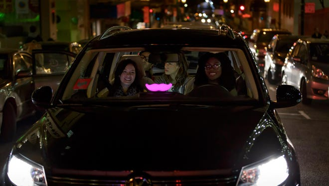Ride-sharing service Lyft made its Fort Collins debut Thursday.