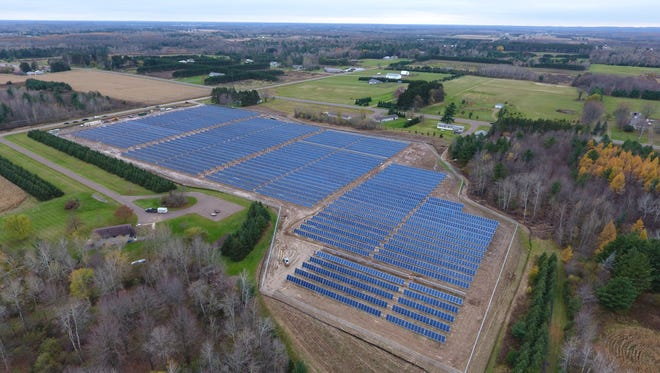 Large commercial and industrial customers could buy an interest in a solar power project under pilot project proposed by We Energies.