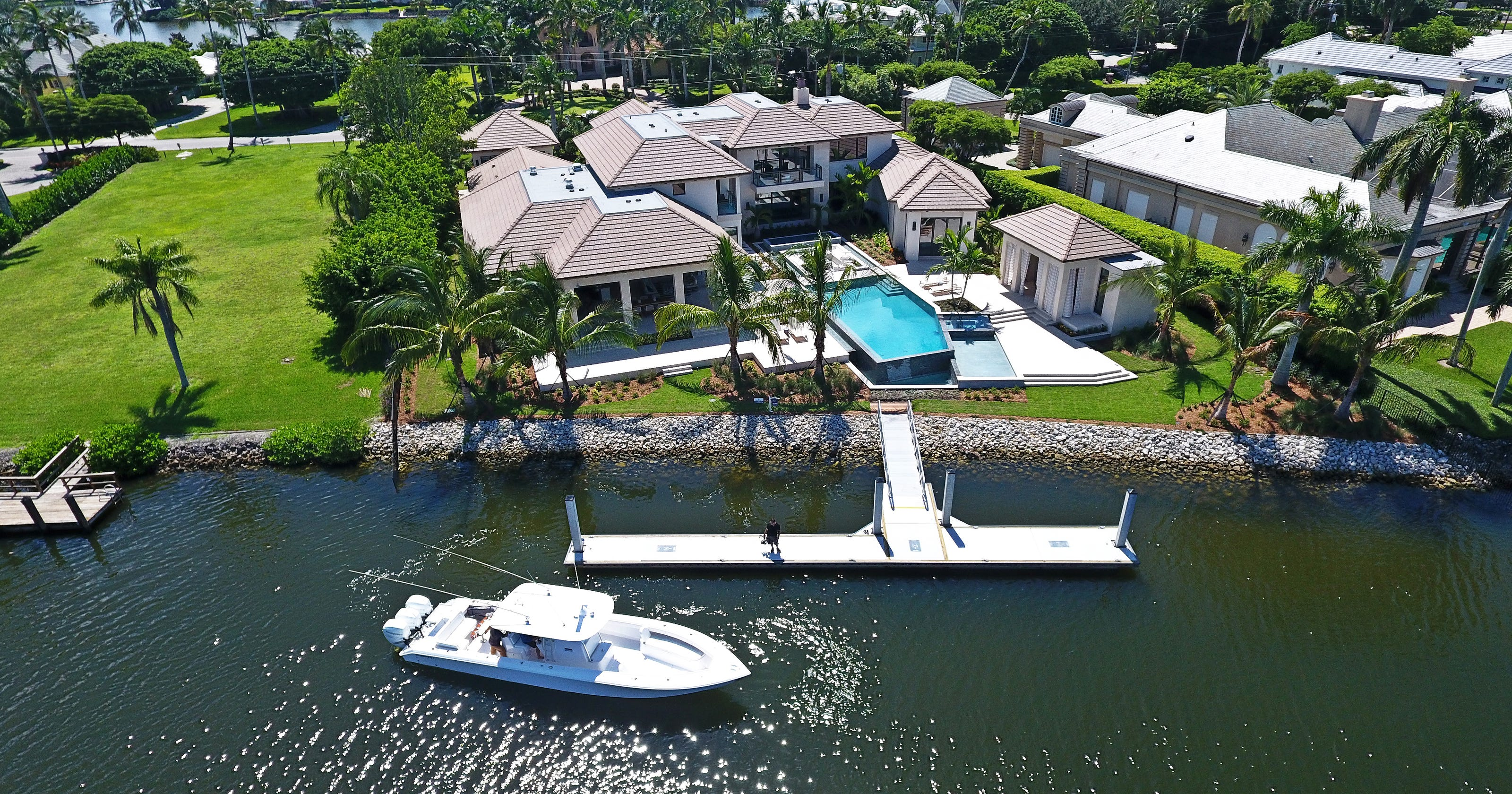 This new home in Port Royal set a sales record for Naples