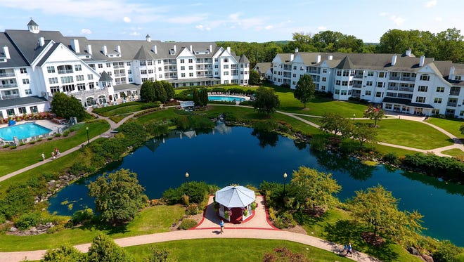 The Osthoff Resort in Elkhart Lake was originally constructed in 1886 but was almost completely rebuilt in 1995.