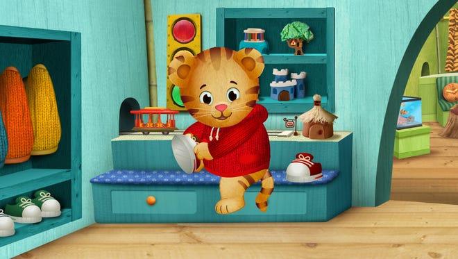 An image from the PBS Kids series 'Daniel Tiger's Neighborhood.'