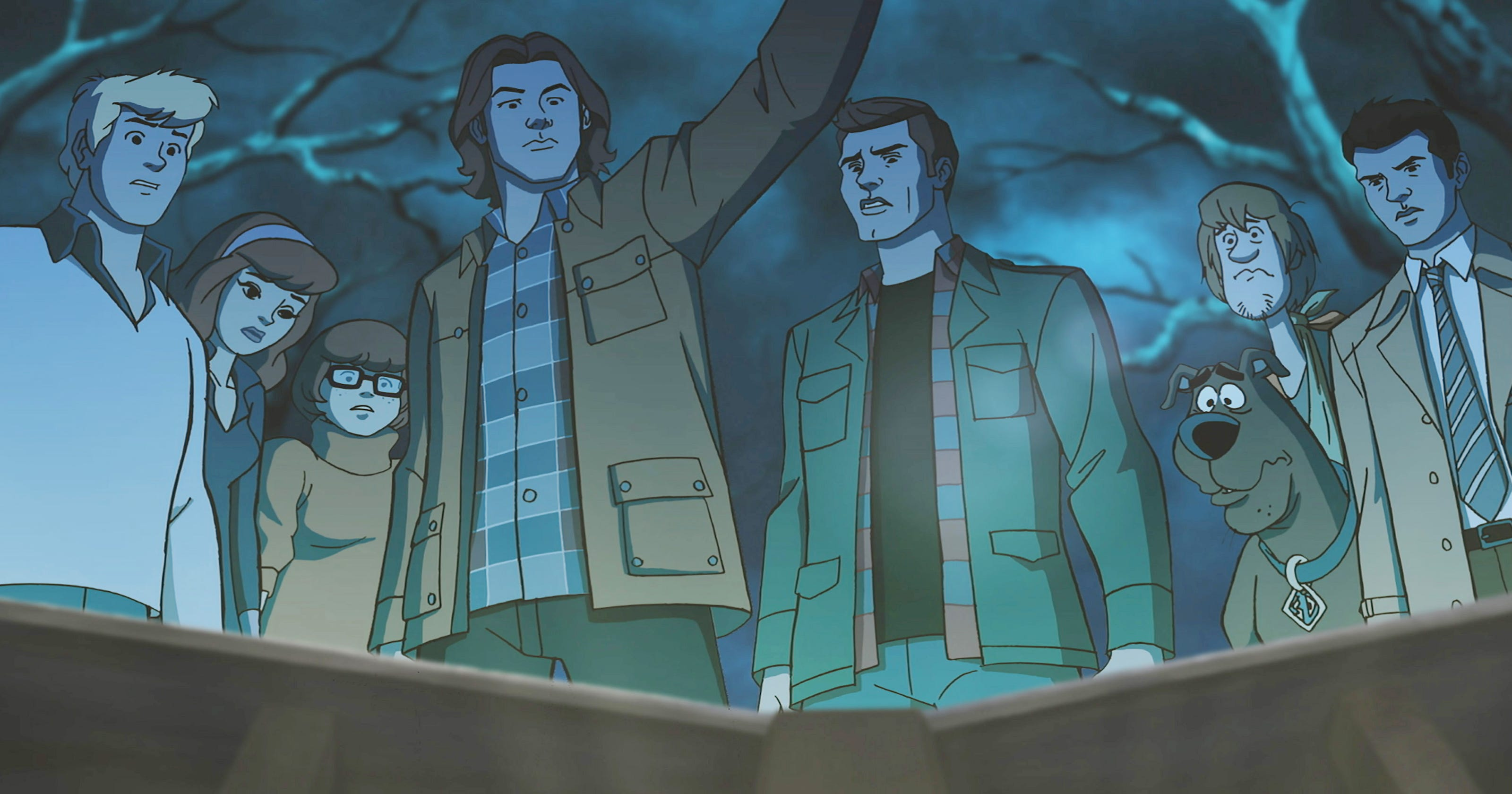 Supernatural' animates the Winchester boys for 'Scooby-Doo' crossover