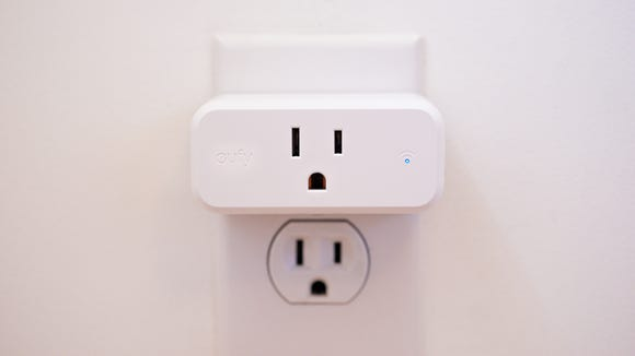 It's small enough that it won't block other outlets.