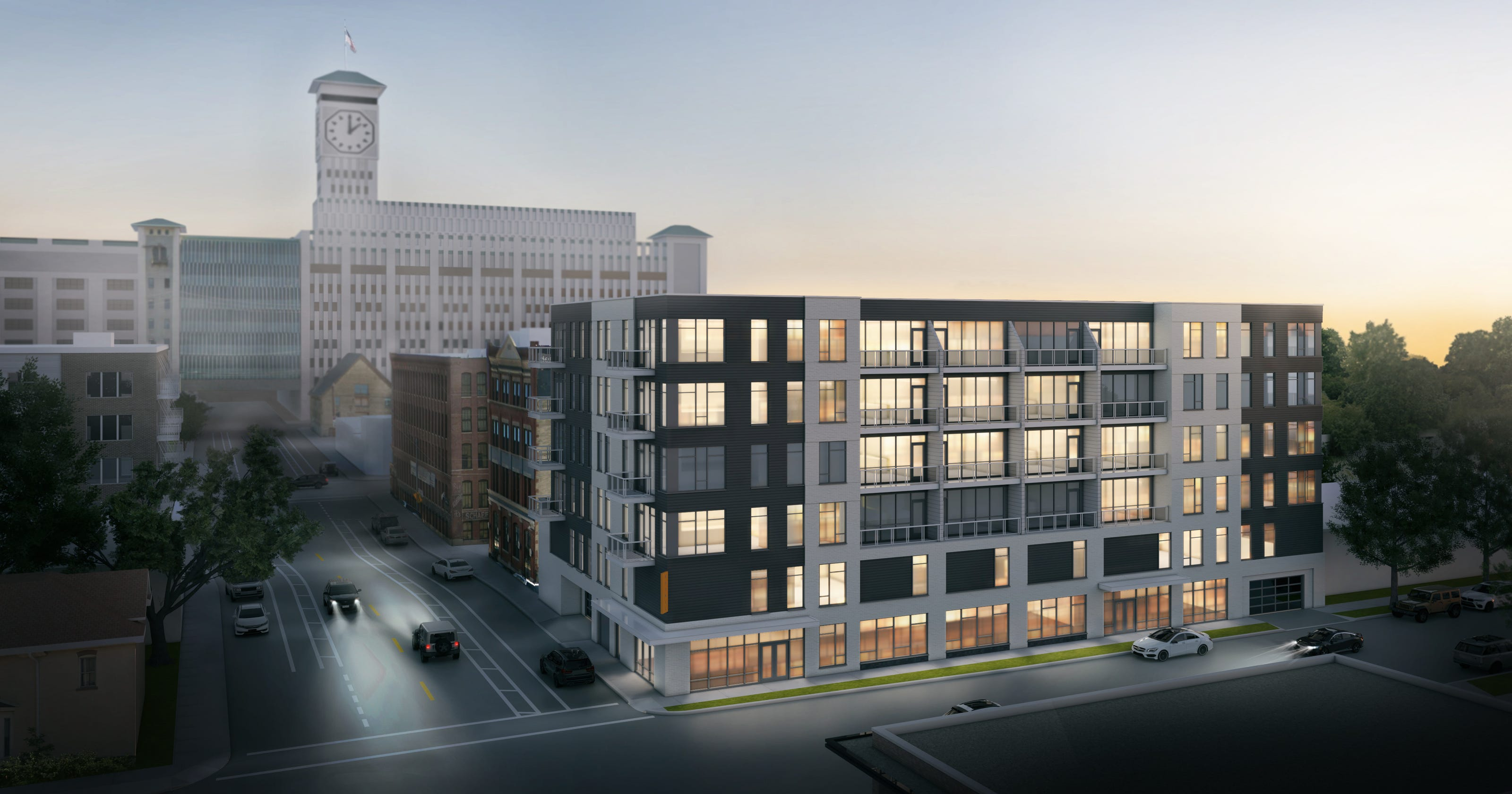 New Land Proposes 48 Unit Apartment Building Near Its Trio Mke Project In Walker S Point