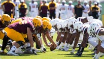 ASU football will play its annual spring game at Sun Devil Soccer Stadium on April 13 due to the ongoing renovations at Sun Devil Stadium.