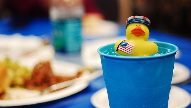 The Great American Duck Race Sponsor Party features good company, good food, good music and prizes.