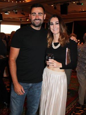 Anthony and Jennifer Yori, fourth generation Nevadans, attend Vintage Eldorado, a debut Italian food and beverage tasting that kicked off the recent 33rd annual Eldorado Great Italian Festival.