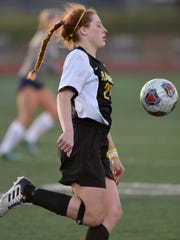 Gabriela Sgambati not only excels on the soccer field, but in the classroom, where she owns a sparking 4.0 grade-point average, is a National Honor Society member and senior class president.