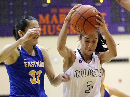 Katia Gallegos, right, of Franklin will play for the