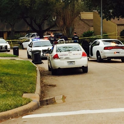 A 3-year-old was shot in northwest Harris County Friday