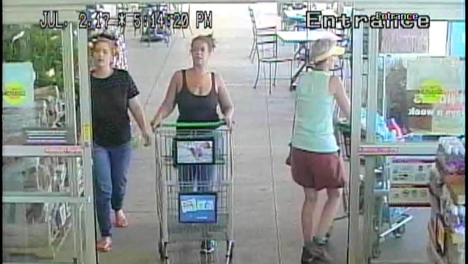 West Manchester Township Police are asking for help identifying these two women.