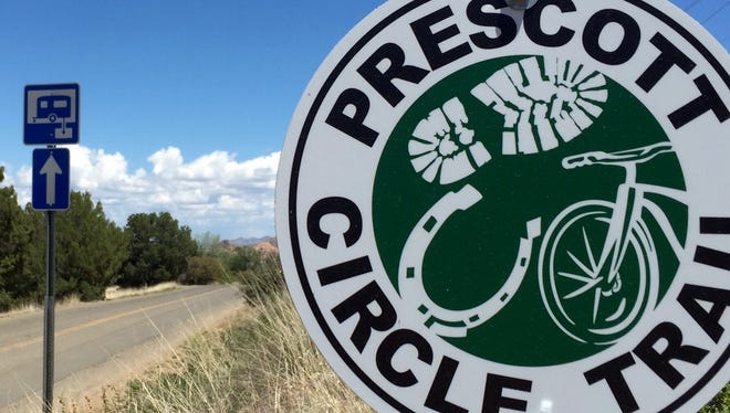 The Prescott Circle Trail, a 54-mile system of trails that form a loop around Prescott, is nearing completion. It was conceived 25 years ago by the Yavapai Trail Association.