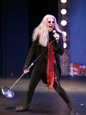 "Ryan Bowie returns to the role of Riff Raff in Richard O'Brien's ""The Rocky Horror Show"" at the Roxy Regional Theatre, Oct. 20-28."