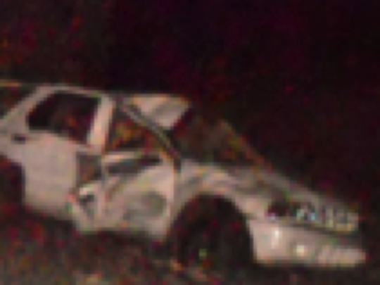 The scene of fatal collision on Feb. 8, 2014 on Fossil