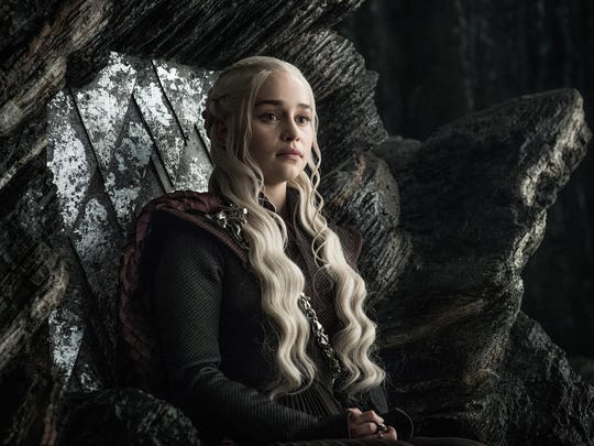 Daenerys Targaryen (Emilia Clarke) inherited her family's connection to fire and dragons, but where do her moments of magnanimity and cruelty come from?