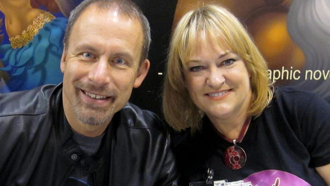 "Richard and Wendy Pini, creators of the comic ""Elfquest,"" in 2018."