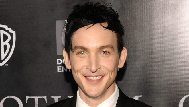 """FILE - In this Sept. 15, 2014 file photo, actor Robin Lord Taylor arrives at the """"Gotham"""" series premiere event at the New York Library in New York. The series premieres on Monday, Sept. 22 on Fox. (Photo by Evan Agostiniti/Invision/AP, File)"""