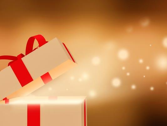 Shiny Gift box.