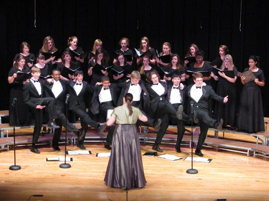 The Louisville Youth Choir conducted by Terri Foster.