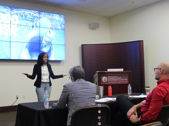 Entrepreneurs participated in $1,000 Shark Tank to