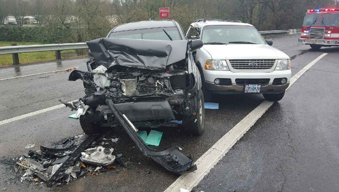 After crashing his Ford Explorer into a Toyota pickup, a man tried to carjack a Volkswagen Dec. 2, police said.