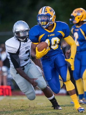 A.I.'s Quadree Henderson accounted for more than 1,000 yards of total offense for the Tigers last season.