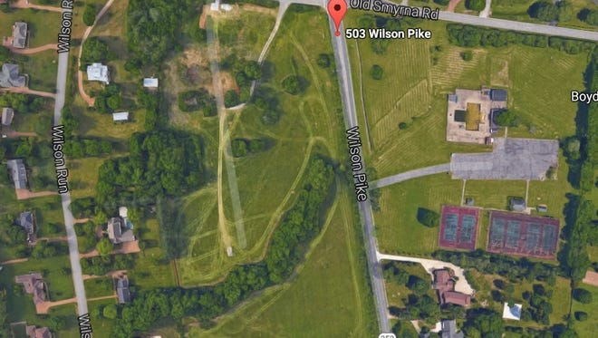 The Valley View subdivision will be located at 503 Wilson Pike in Brentwood.