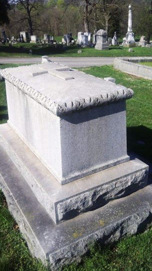 Major General William B. Franklin's grave. (SLM photo)