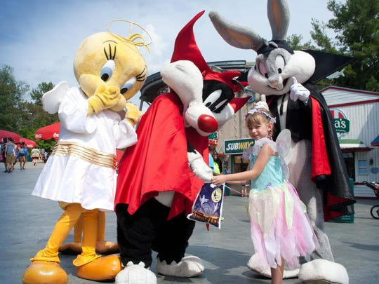 """Family-friendly activities continue through Nov. 1 at Six Flags Great Adventure, part of """"Fright Fest: Days of Thrills."""""""