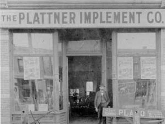 The Denver branch of the Plattner Implement Co. at
