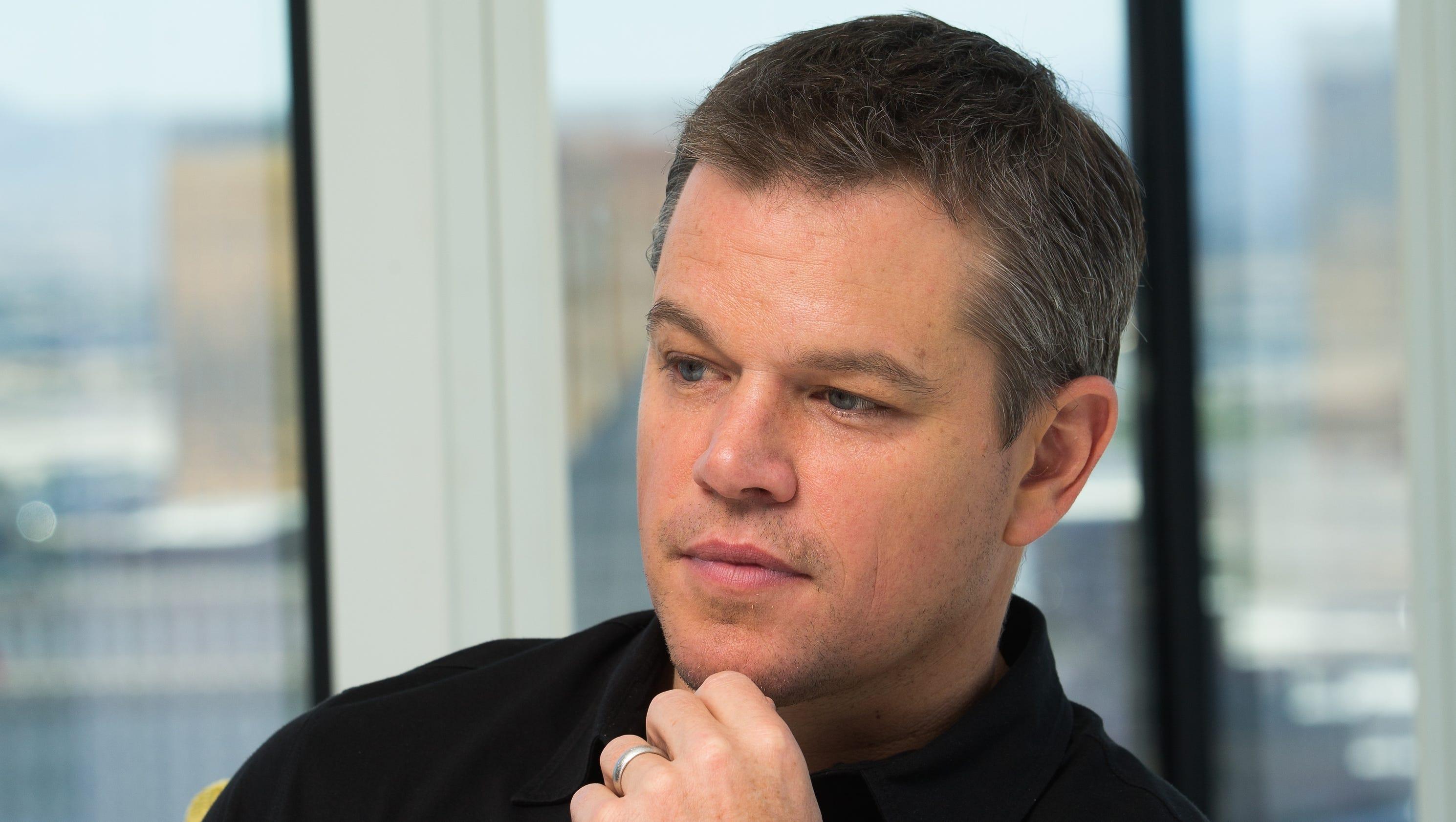 Straight Up Hollywood: From Matt Damon to what it's like covering the RNC Matt Damon
