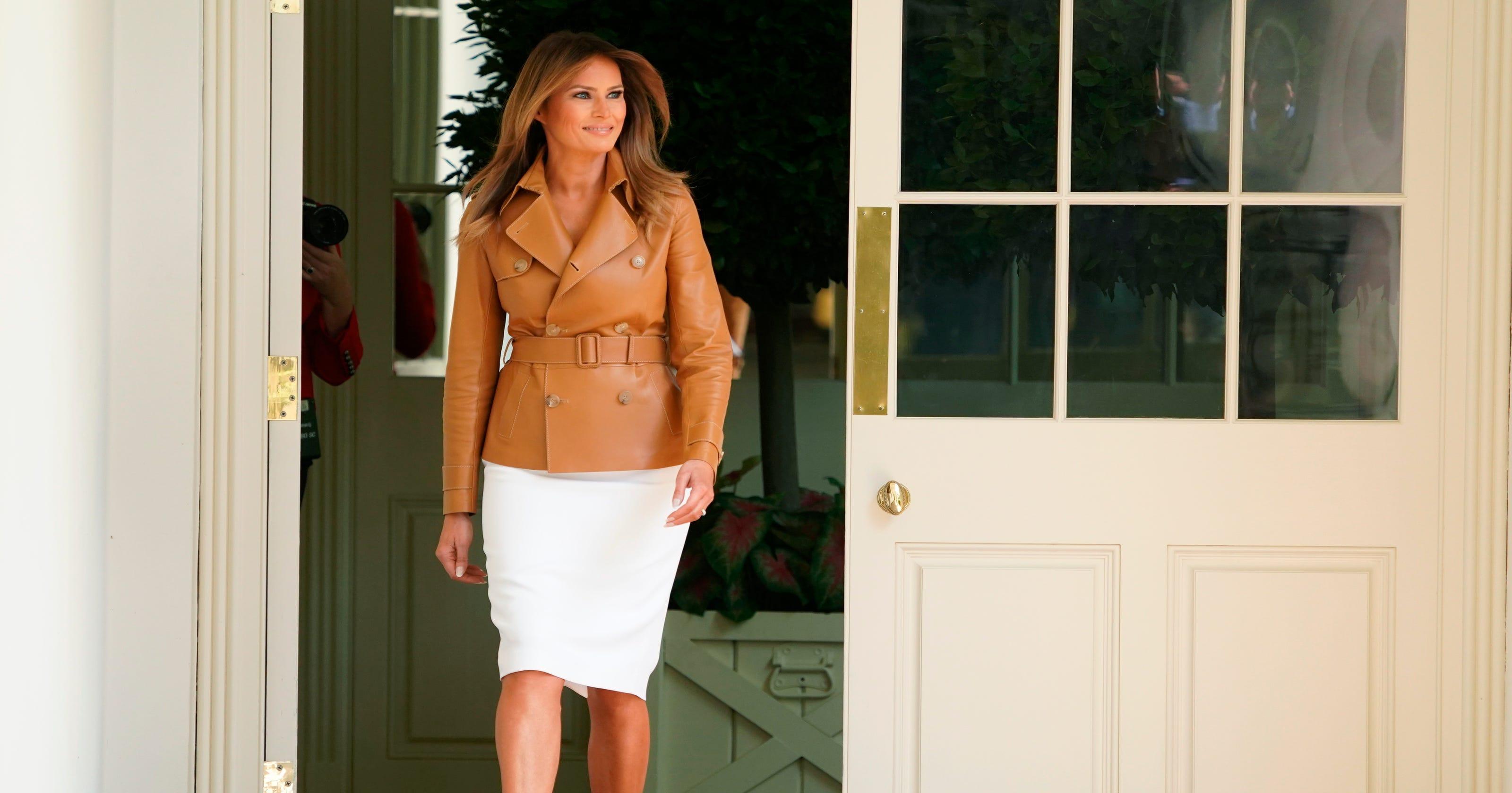 Melania Trump breaks fashion