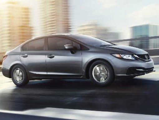 2015 Honda Civic HF sedan